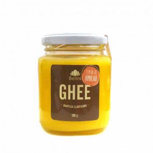 Manteiga Clarificada Ghee com Sal do Himalaia Benni