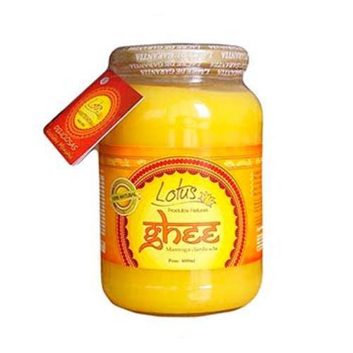 Manteiga Clarificada Ghee Tradicional 600 Ml - Lotus