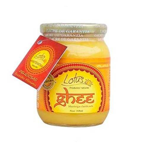 Manteiga Clarificada Ghee Tradicional 268ml - Lotus