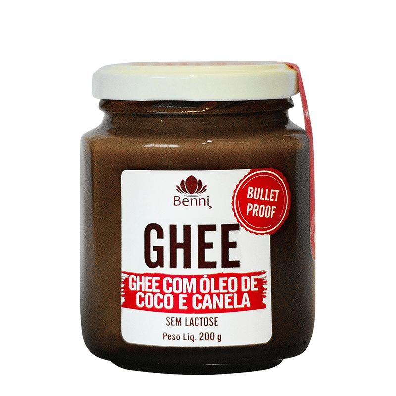 Manteiga Ghee Bulletproof com Óleo de Coco 200g - Benni