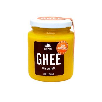 Manteiga Ghee com Curcuma 200 G Benni Alimentos
