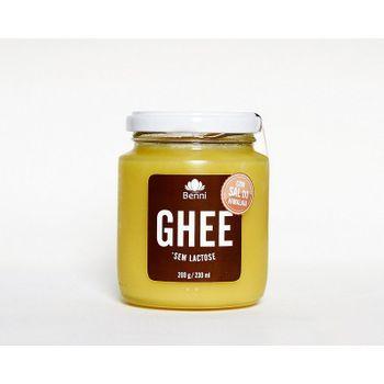 Manteiga GHEE com Sal Rosa do Himalaia 200g Benni Alimentos