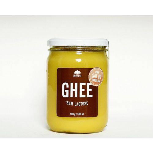 Manteiga GHEE com Sal Rosa do Himalaia 500g - Benni Alimentos -
