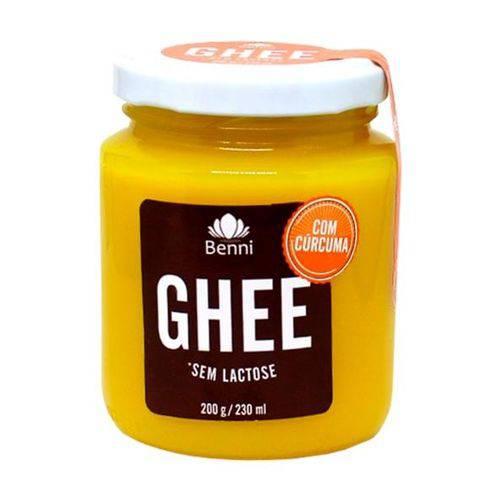 Manteiga Ghee Curcuma 200g - Benni