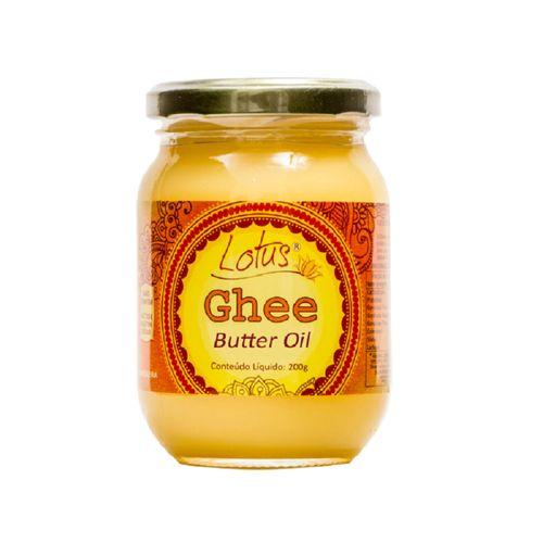 Manteiga Ghee Indiana Clarificada - Lótus - 200g