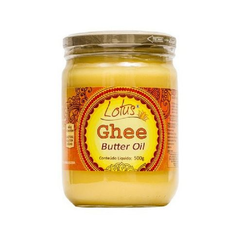 Manteiga Ghee Indiana Clarificada - Lótus - 500g