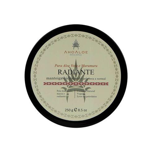 Manteiga Natural Hidratante Radiante 250g - AhoAloe