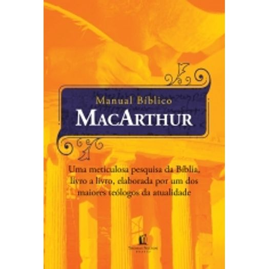Manual Biblico Macarthur - Thomas Nelson