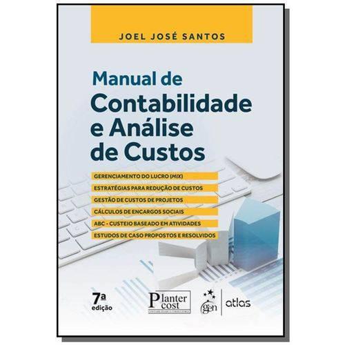 Manual de Contabilidade e Analise de Custos - 7a e