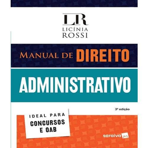 Manual de Direito Administrativo - 03 Ed
