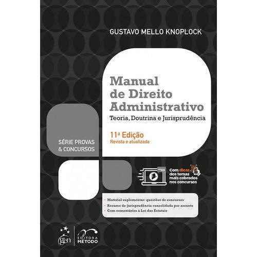 Manual de Direito Administrativo - 11ª Edição (2018)