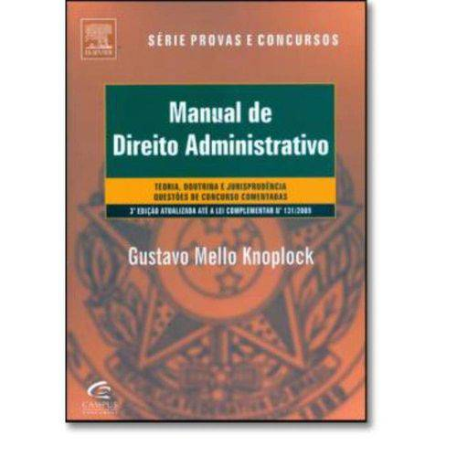 Manual de Direito Administrativo 3ª Edicao