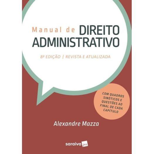 Manual de Direito Administrativo - Mazza - Saraiva - 8 Ed