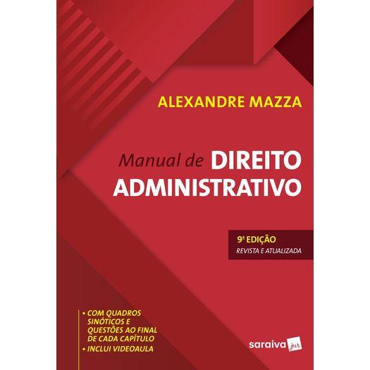 Manual de Direito Administrativo - Mazza - Saraiva