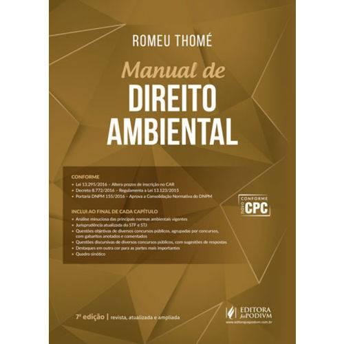 Manual de Direito Ambiental (2017)