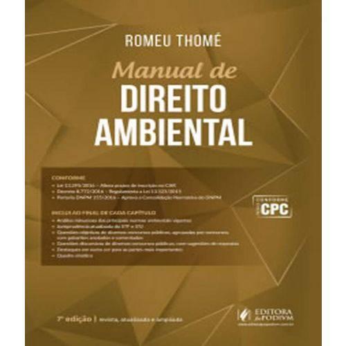 Manual de Direito Ambiental - 07 Ed
