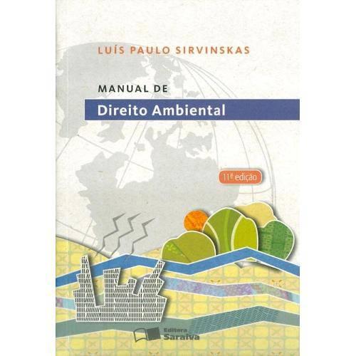 Manual de Direito Ambiental- 11ª Ed