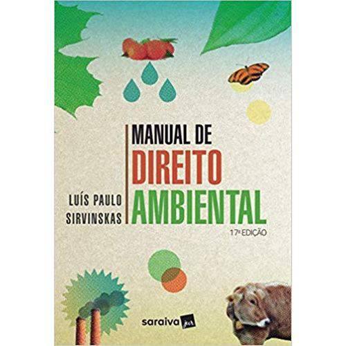 Manual de Direito Ambiental - 17ª Edição (2019)