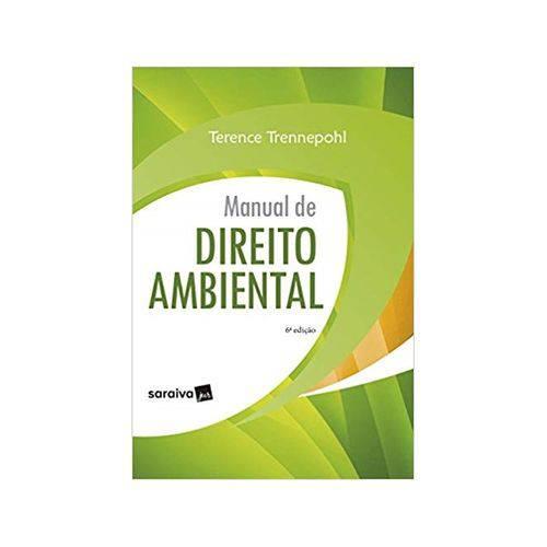 Manual de Direito Ambiental 6ªed. - Saraiva