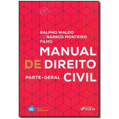 Manual de Direito Civil: Parte Geral - 01ed/18