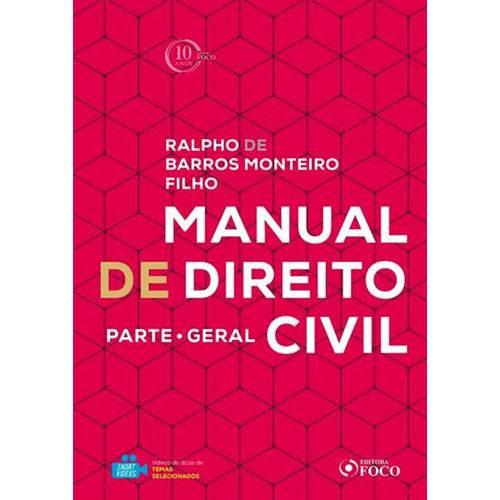 Manual de Direito Civil - Parte Geral