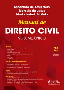 Manual de Direito Civil - Volume Único (2018)
