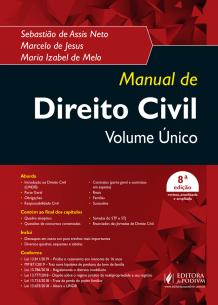 Manual de Direito Civil - Volume Único (2019)