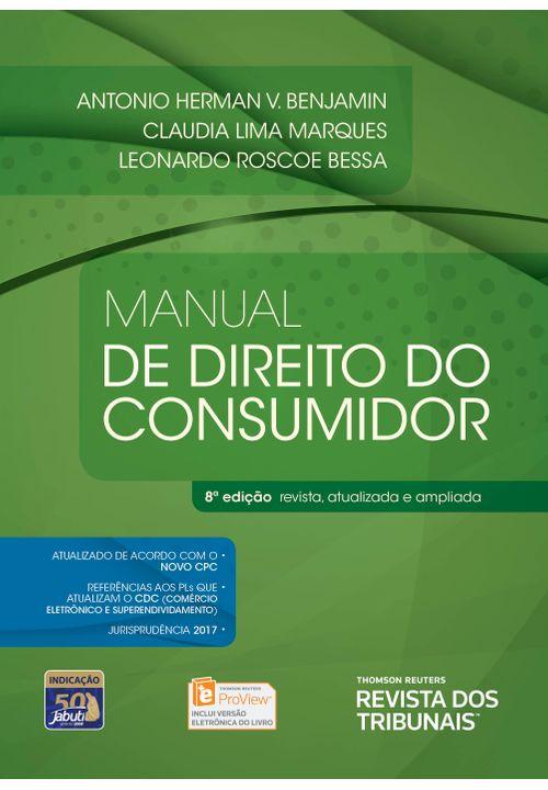 Manual de Direito do Consumidor - 8ª Edição