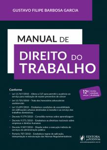 Manual de Direito do Trabalho (2019)