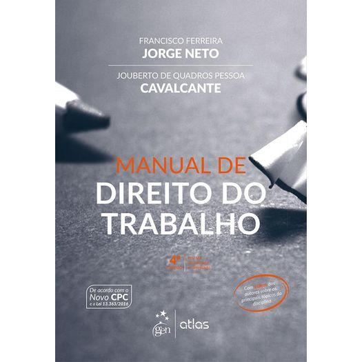 Manual de Direito do Trabalho - Jorge Neto - Atlas