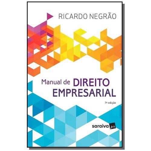 Manual de Direito Empresarial 12
