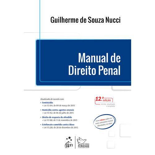 Manual de Direito Penal - 12ª Ed.