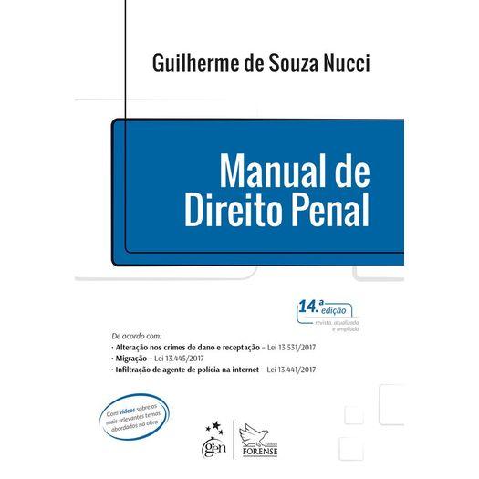 Manual de Direito Penal - Nucci - Forense - 14ed