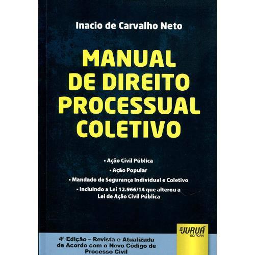 Manual de Direito Processo Coletivo