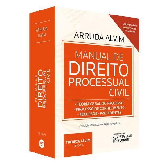 Manual de Direito Processual Civil - Alvim - Rt