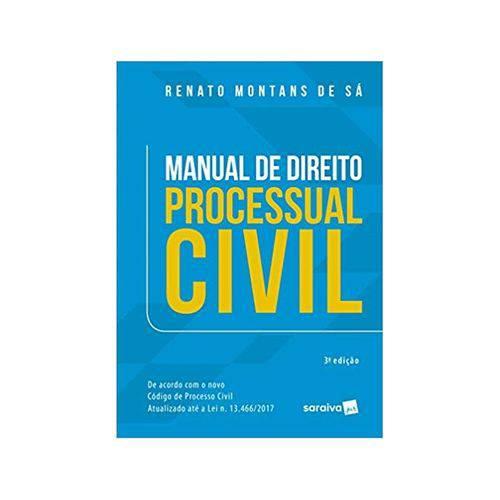 Manual de Direito Processual Civil 3ªed. - Saraiva