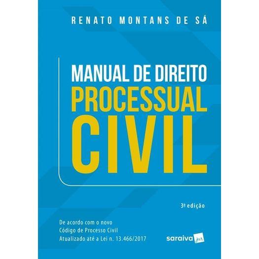 Manual de Direito Processual Civil - Saraiva - 3ed