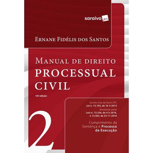 Manual de Direito Processual Civil - Vol 2 - Saraiva