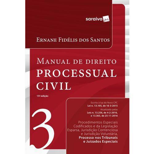 Manual de Direito Processual Civil - Vol 3 - Saraiva