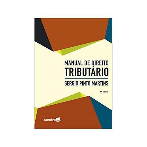 Manual de Direito Tributário 17ªed. - Saraiva