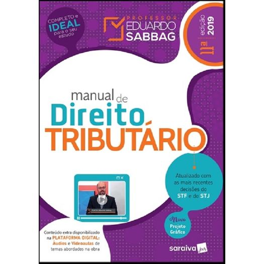 Manual de Direito Tributario - Sabbag - Saraiva