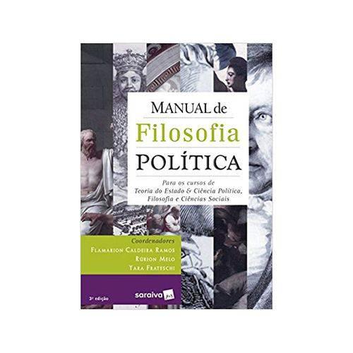 Manual de Filosofia Política 3ªed. - Saraiva