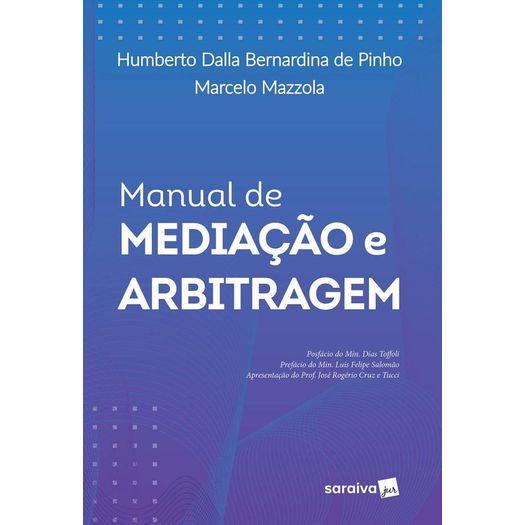 Manual de Mediacao e Arbitragem - Saraiva