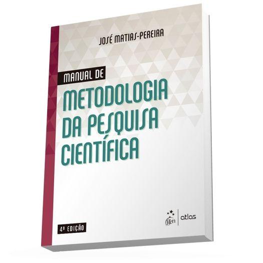 Manual de Metodologia da Pesquisa Cientifica - Atlas