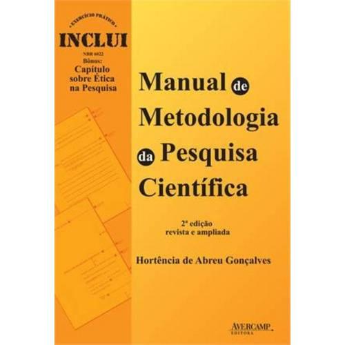 Manual de Metodologia da Pesquisa Cientifica