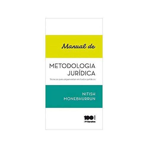 Manual de Metodologia Jurídica 1ªed. - Saraiva