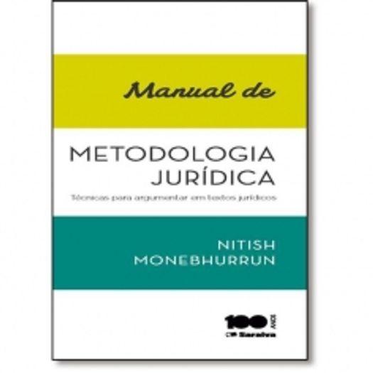 Manual de Metodologia Juridica - Saraiva