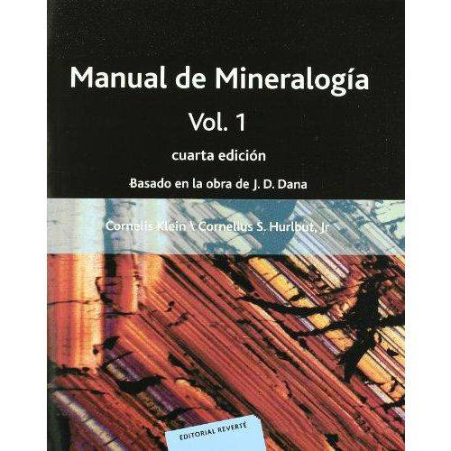 Manual de Mineralogía, Vol.1