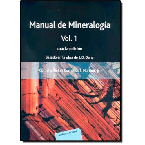 Manual de Mineralogía - Vol.1