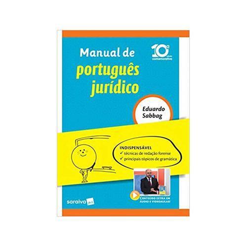 Manual de Português Jurídico 10ªed. - Saraiva